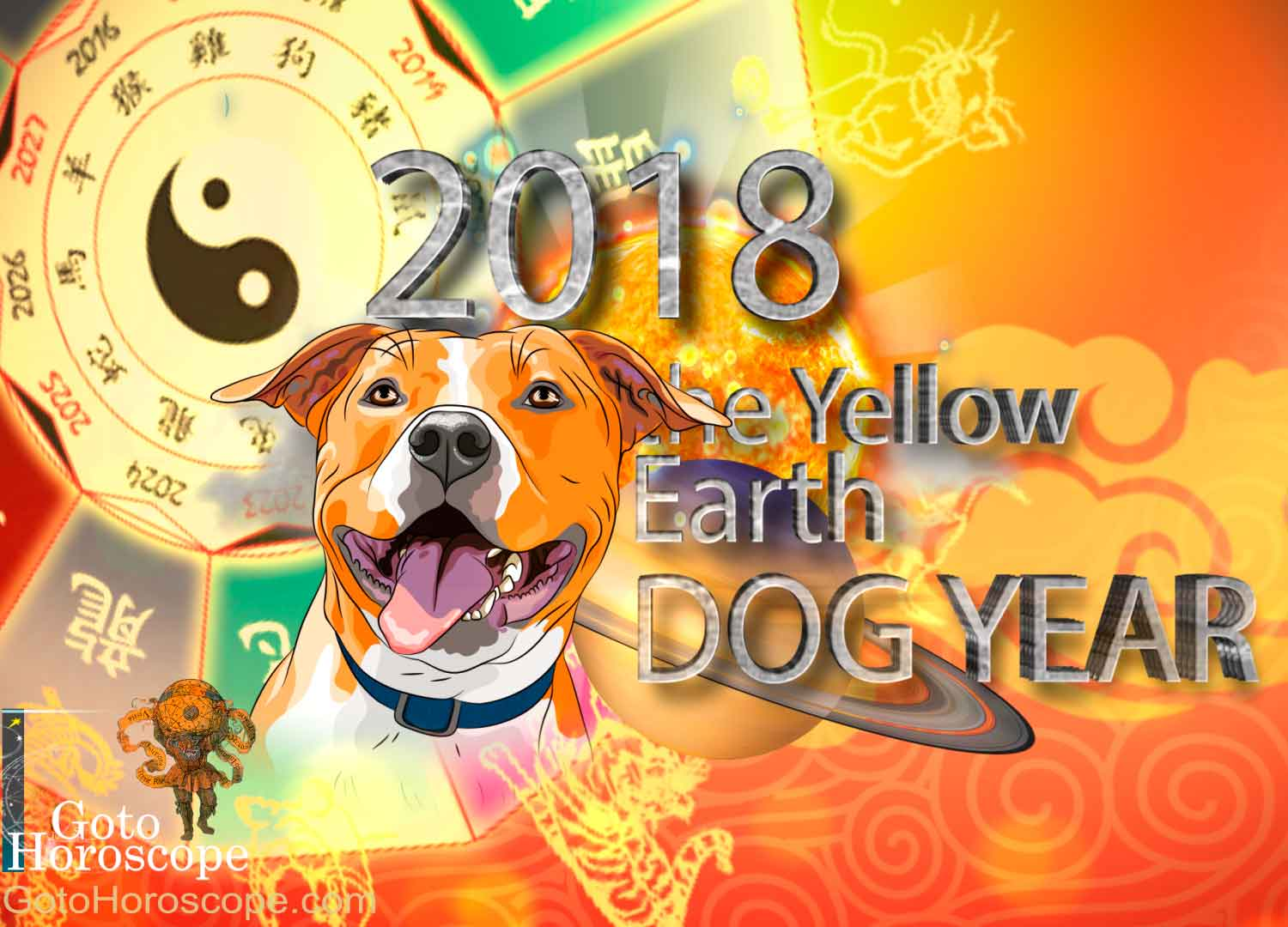 Chinese New Year 2018 Horoscope for the Yellow Earth Dog Year