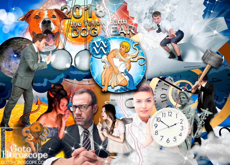 Aquarius 2018 Horoscope in the Work Sphere