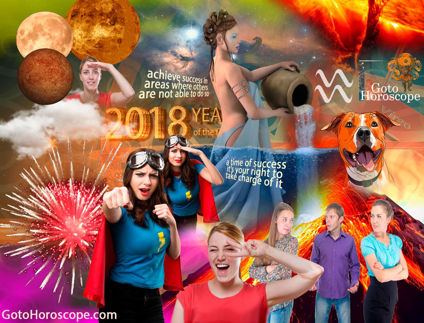 Aquarius 2018 Horoscope Part 2