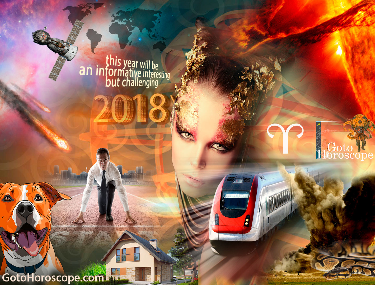 Aries 2018 Horoscope Part 1