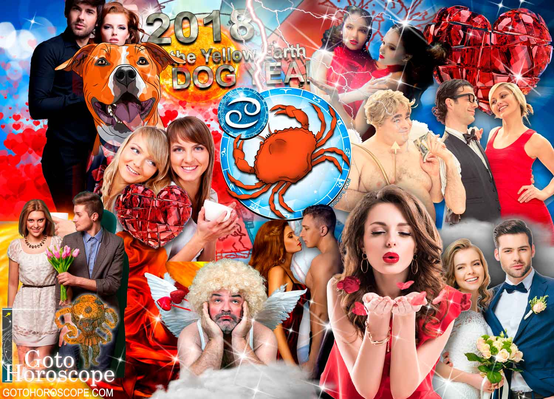 Cancer 2018 Horoscope in the Love Sphere