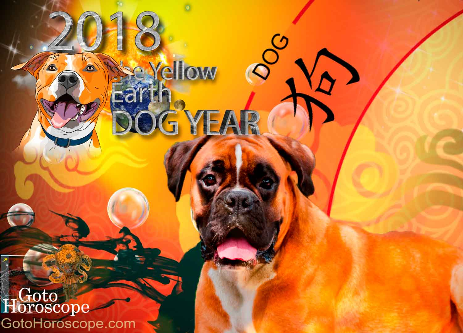 Dog 2018 Horoscope for the Yellow Earth Dog Year