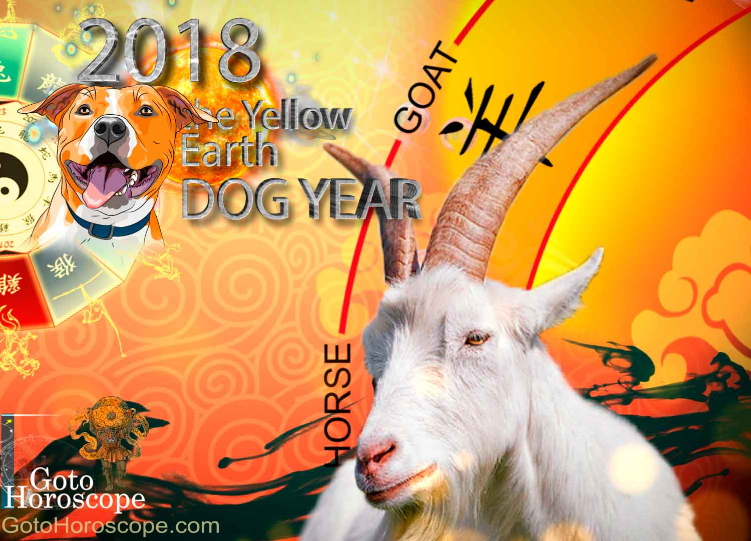 Sheep 2018 Horoscope for the Yellow Earth Dog Year