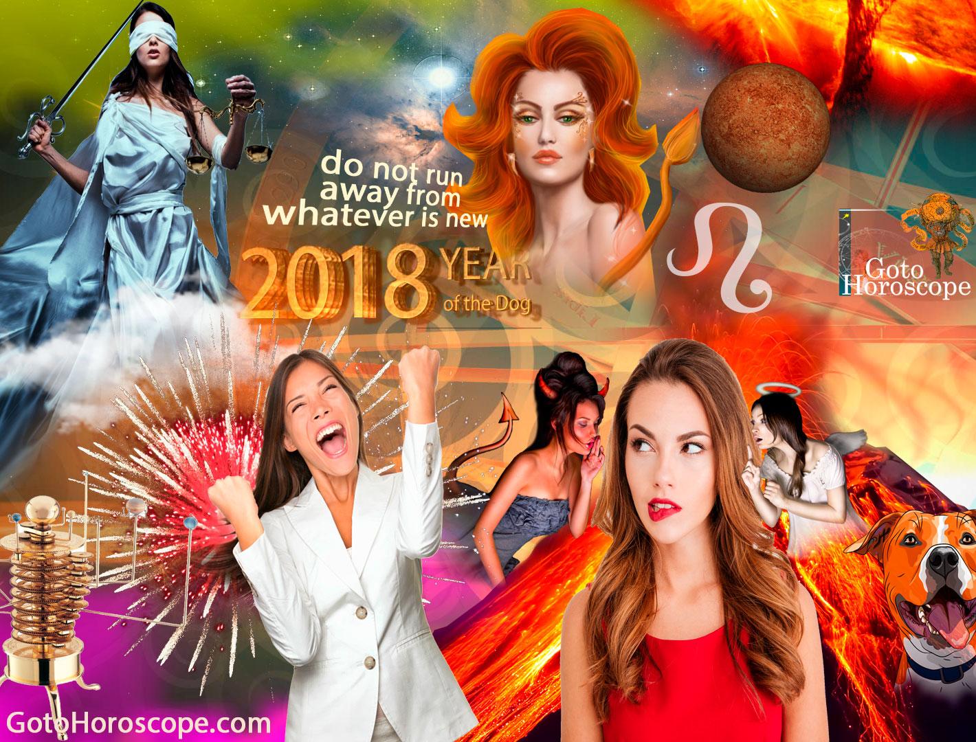 Leo 2018 Horoscope Part 2
