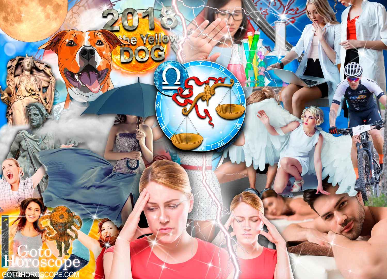 Libra 2018 Horoscope in the Health Sphere