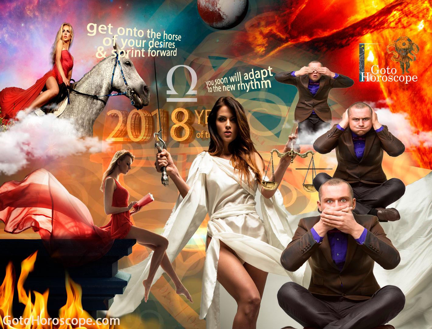Libra 2018 Horoscope Part 2