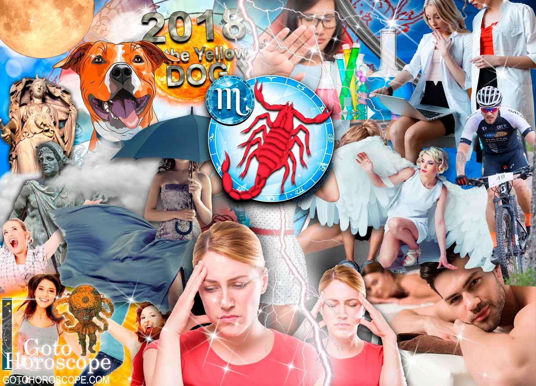 Scorpio 2018 Horoscope in the Health Sphere