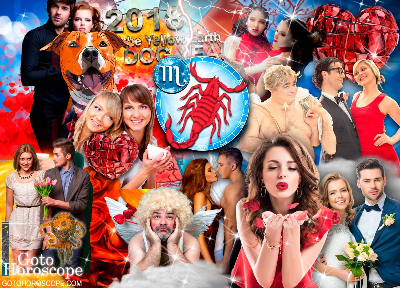Scorpio 2018 Horoscope in the Love Sphere