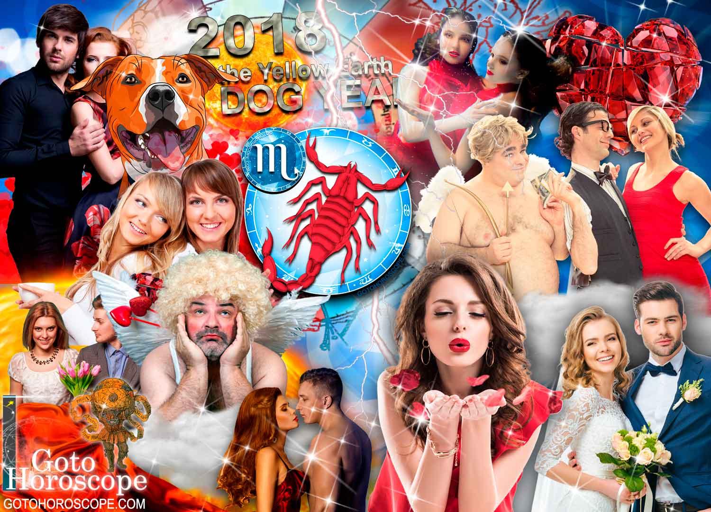 2018 Horoscope Scorpio in the Love Sphere