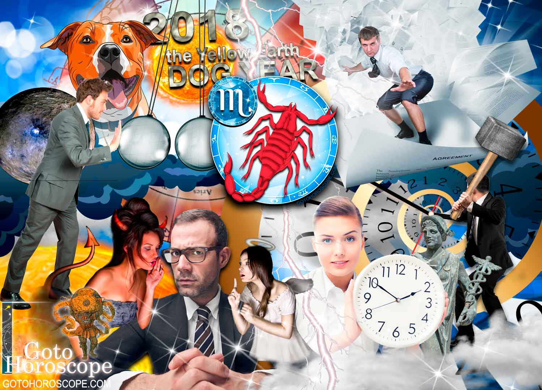 Scorpio 2018 Horoscope in the Work Sphere