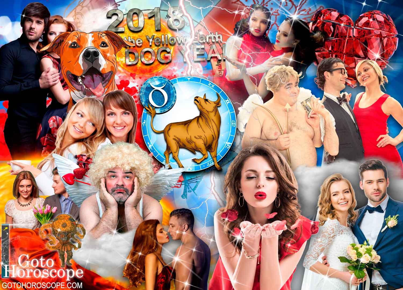 2018 Horoscope Taurus in the Love Sphere