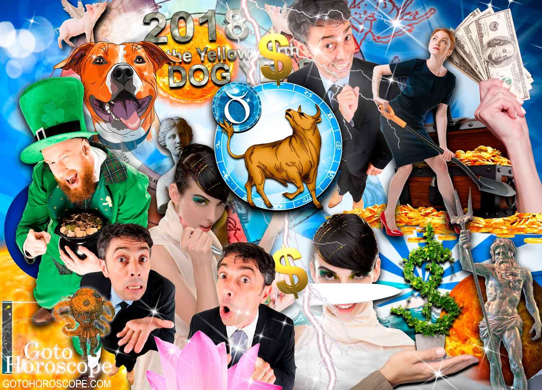 Taurus 2018 Horoscope in the Money Sphere