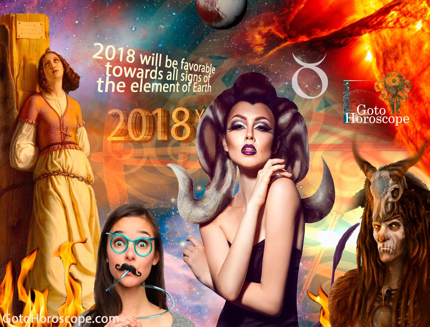 Taurus 2018 Horoscope Part 1