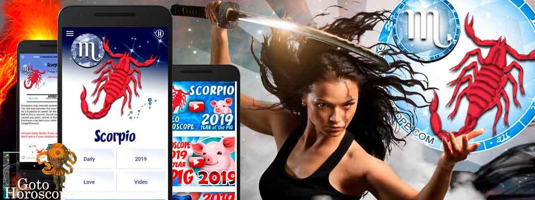 Free Daily horoscope App for Scorpio
