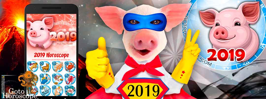 Free Daily horoscope App for the year of the PIG