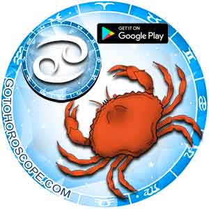Download horoscope App for Cancer
