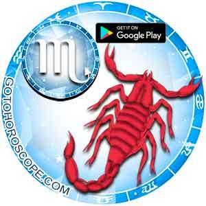 Download horoscope App for Scorpio