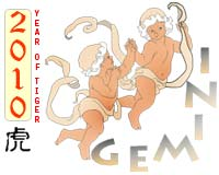 February 2010 Gemini monthly horoscope