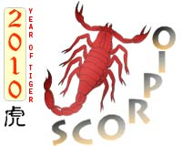 November 2010 Scorpio monthly horoscope