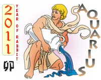 January 2011 Aquarius monthly horoscope