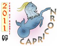 February 2011 Capricorn monthly horoscope