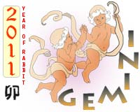 July 2011 Gemini monthly horoscope