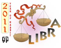 April 2011 Libra monthly horoscope
