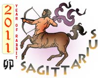 February 2011 Sagittarius monthly horoscope