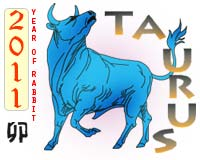 April 2011 Taurus monthly horoscope