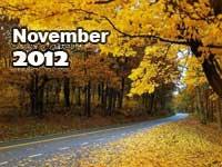 November 2012 monthly horoscope