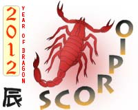 November 2012 Scorpio monthly horoscope
