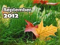 September 2012 monthly horoscope