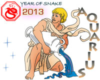 February 2013 Aquarius monthly horoscope