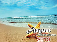 August 2013 monthly horoscope