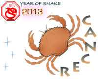 September 2013 Cancer monthly horoscope