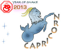 January 2013 Capricorn monthly horoscope