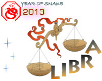 August 2013 Libra monthly horoscope