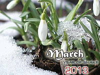 March 2013 monthly horoscope