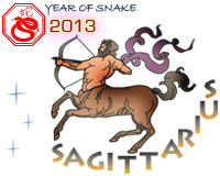 April 2013 Sagittarius monthly horoscope