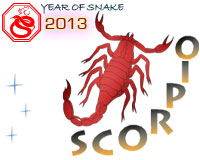 October 2013 Scorpio monthly horoscope