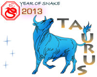 April 2013 Taurus monthly horoscope