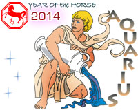 February 2014 Aquarius monthly horoscope