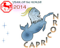 January 2014 Capricorn monthly horoscope