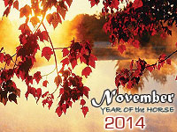 November 2014 monthly horoscope