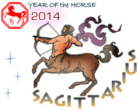 January 2014 Sagittarius monthly horoscope