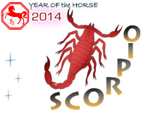 January 2014 Scorpio monthly horoscope