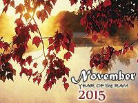 November 2015 monthly horoscope