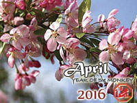 April 2016 monthly horoscope