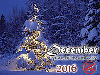 December 2016 monthly horoscope