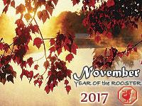 November 2017 monthly horoscope